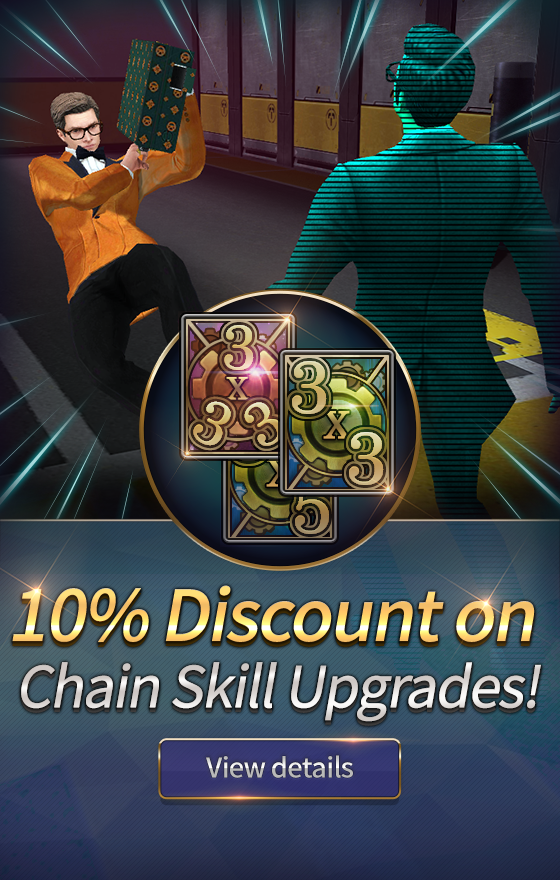 aec3631401b2 Kingsman: The Golden Circle Game: Chain Skill Discount - 2/7/18